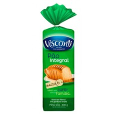 Pão de Forma Integral Visconti 400g