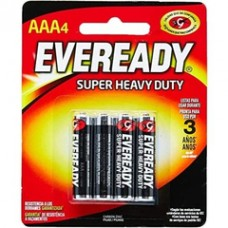 Pilha Eveready AAA Palito 4un
