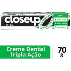 Creme Dental Close Up Triple Menta 70g