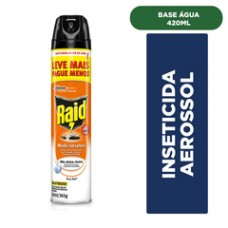 Inseticida Aerosol Raid Multi-Insetos 420ml